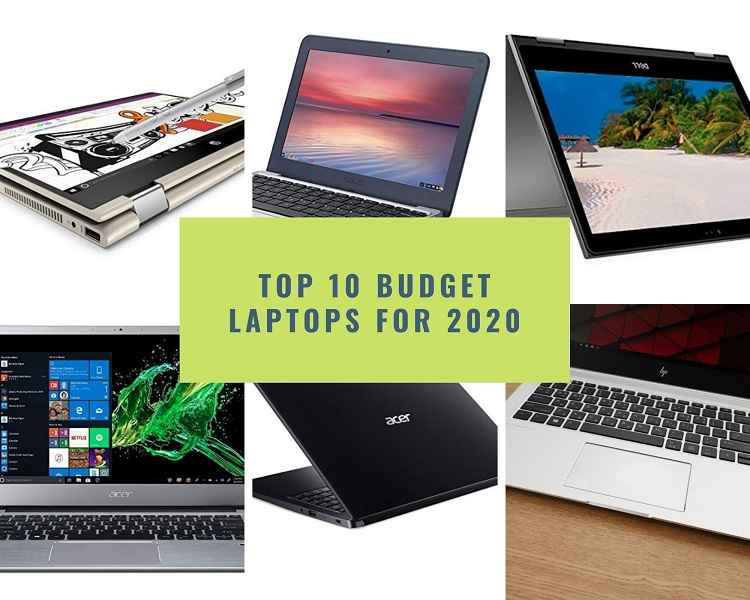 Top 10 Budget Laptops for 2020